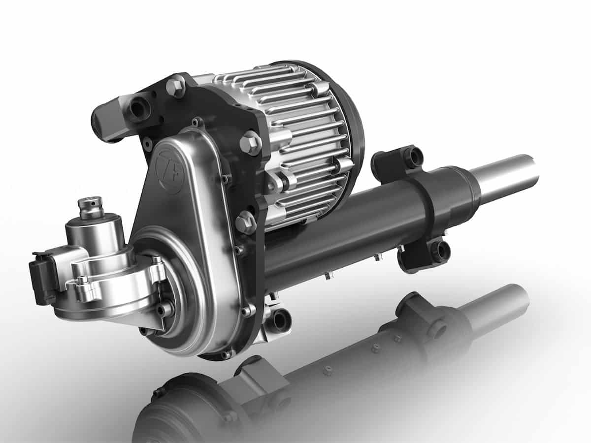 All Electric Power Steering For Trucks Turns A Corner The Truck Expert System Reax
